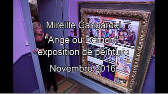 ''Ange ou Démon'' reportage Mireille Cangardel #TVLocalebalma #Balma #Toulouse @TvLocale_fr @MLECOMTE @AnnMidiPyrenees @Gaellelaborie @XSpanghero