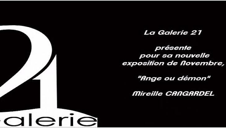 Galeries-Art Exposition de Peinture Mireille Cangardel @galerie21_balma à #Balma #Toulouse